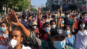 Myanmar coup: 8 reported killed in protests against military rule