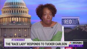 MSNBC's Joy Reid Fires Back After Tucker Carlson Calls Her the'Race Lady'