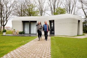 What went right: Europe's first printed house, plus more positive news
