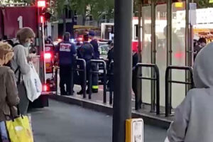 Video shows random stabbing of two Asian women in San Francisco