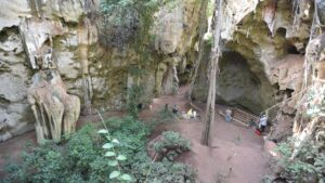 Oldest human burial in Africa discovered in a cave