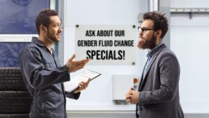 Experts Now Recommend Changing Your Gender Fluid Every 3 Months Or 3,000 TikTok Posts