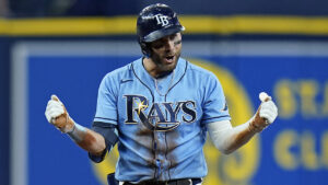 Kiermaier ends combined no-hit bid, Rays top Red Sox 1-0