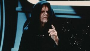 Emperor Palpatine Urges Citizens To Give Up Their Blasters Since They'd Need A Death Star To Beat The Empire