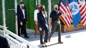 Kamala Harris Finally Visits the Border—800 Miles From Where the Action Is