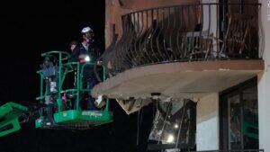 Miami-Dade building collapse: Death toll rises to 4, with 159 people unaccounted for
